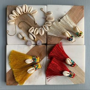 Beach Babe Tassel Earrings